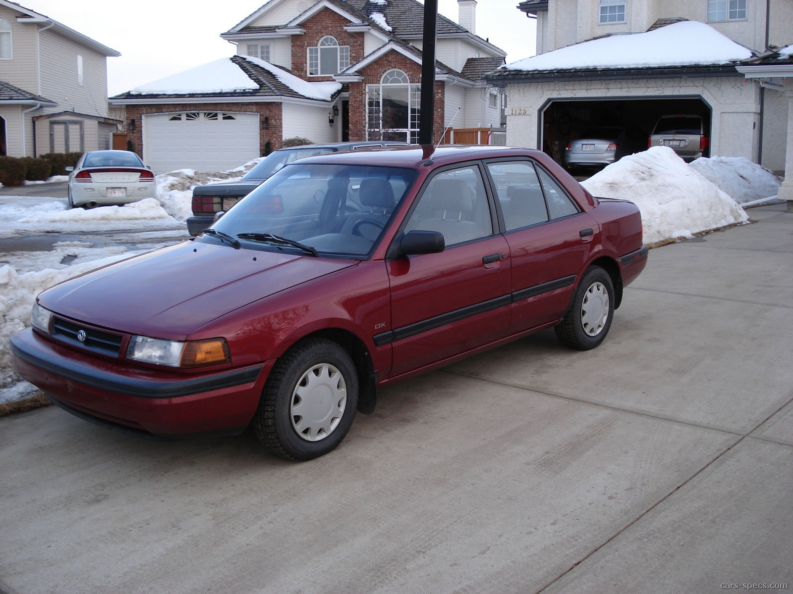 1990 Mazda Protege Sedan Specifications  Pictures  Prices