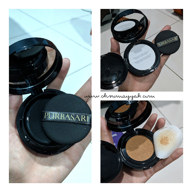 review purbasari pore perfecting bb cushion