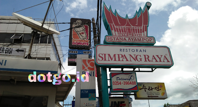 Restoran simpang raya rumah makan padang paling banyak cabang di indonesia