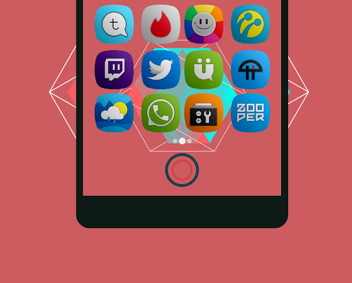 Yomira- Icon Pack Apps voor Android screenshot