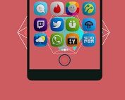 Yomira- Icon Pack Applications pour Android screenshot