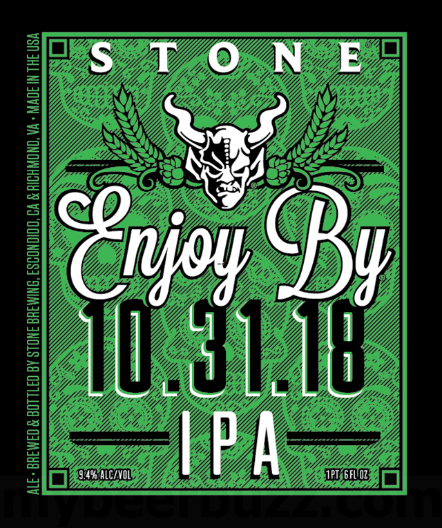 Stone Enjoy By 10.31.18 Coming This Fall