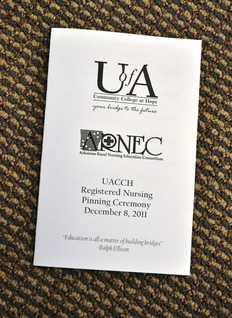 UACCH ARNEC Nurse Pinning Ceremony 2011 - DSC_0021.JPG