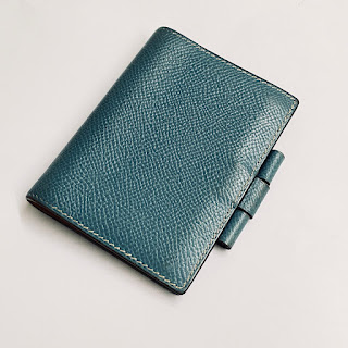 Hermès Mini Leather-Bound Notepad