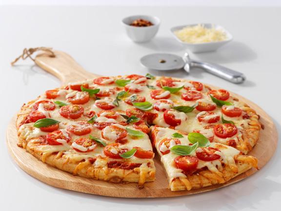 Hinh anh: Banh Pizza hap dan rat de de tu lam o nha