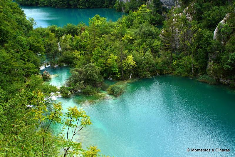 Parque nacional dos lagos  Plitvička jezera