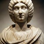 Art romain - Buste de l'impératrice Julia Domna, épouse de Septime Sévère (marbre, fin du IIe siècle - début du IIIe siècle)