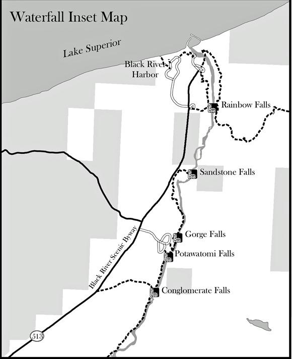 Back RIver Harbour map
