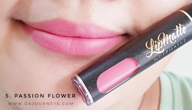 [Review] Lip Matte Passion Flower by Dermaluz