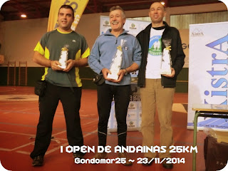I Open de Andainas 25km - Gondomar25