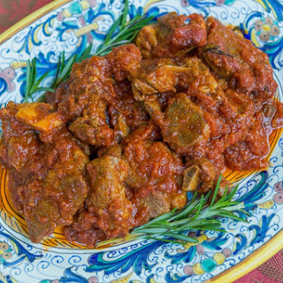 Agnello in Umido (Lamb Braised in Tomato Sauce) Recipe