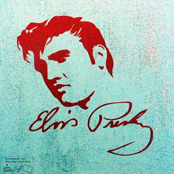 Canvas Elvis Presley 3