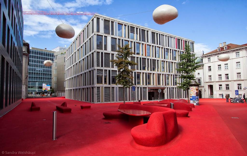 Roter Platz - St. Gallen