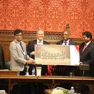 LOKARAKSHAKUDU film Logo was launched in London Parliament