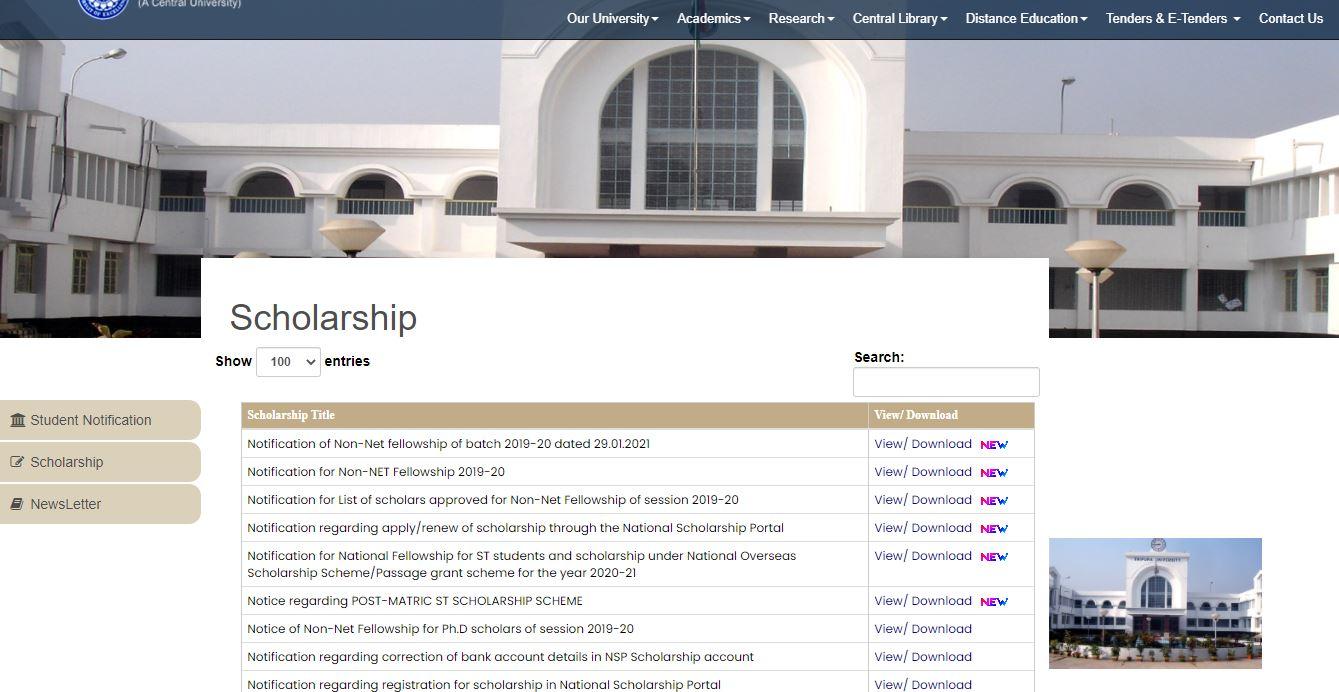 Tripura Scholarship: Online Application, Eligibility and Registration