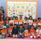 Independence Day Celebration by Jr KG at Witty World, Chikoowadi (2018-19)
