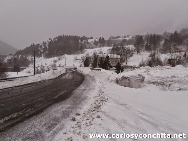 Carretera hacia Porté-Puymorens