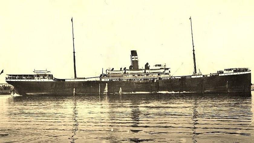 El Valbanera, el barco que ocasionó la \'tragedia\' de Padules.