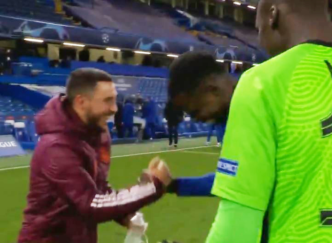 Eden Hazard Apologises To Fans For Laughing With Chelsea Players After Champions League Exit (Video)