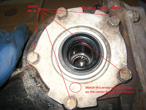 Subaru Axle Snap Ring