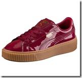 Patent Puma Basket Sneakers
