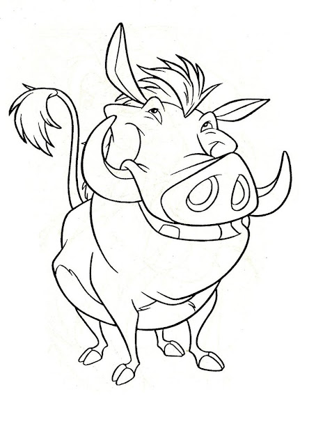 Disney Coloring Pages Lion King  Free Large Images