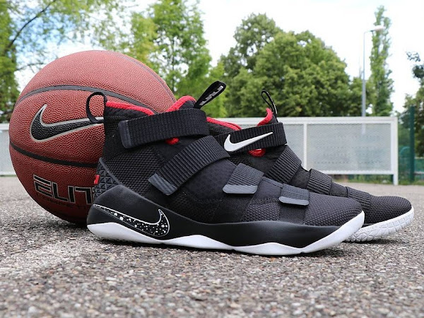 Available Now Nike LeBron Soldier 11 Black and Red