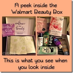 Spring Walmart Beauty Box
