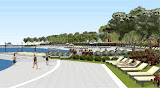 Beach restoration project, in Rovinj - Croatia, Andrea Puorro and Katja Sosic, Studio KAPPO d.o.o., Rovinj