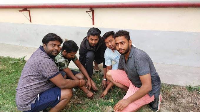 शबे- ए-बरात के शुभ अवसर जयनगर में मोर्निंग वाक ग्रुप के युवाओ ने किया वृक्षारोपण, कहा प्रकृति बचाना हमारा कर्तव्य