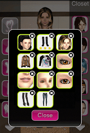 Click to Enlarge - Style Me Girl Level 36 - Winter Games - Jessica - Closet