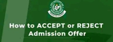 What You Should Know Before You Reject Admission On JAMB CAPS