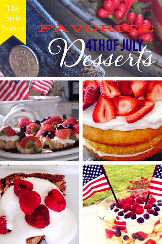 Favorite 4th of July desserts, the Style Sisters, no bake desserts