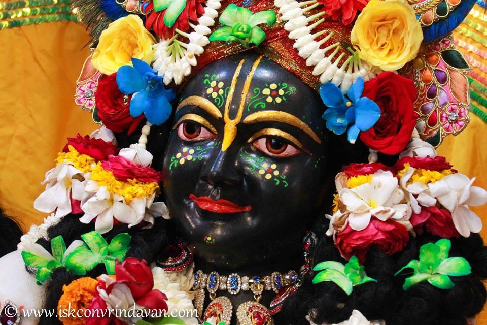 ISKCON Vrindavan Shringar Deity Darshan 11 May  2016 (3)