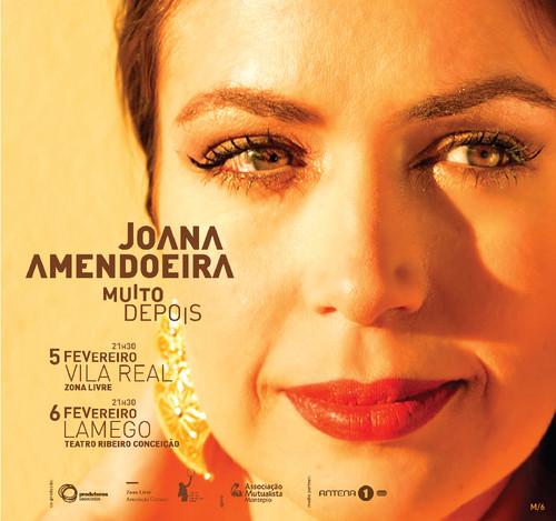 Joana Amendoeira apresenta