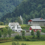 Het plaatsje Vikøyri.