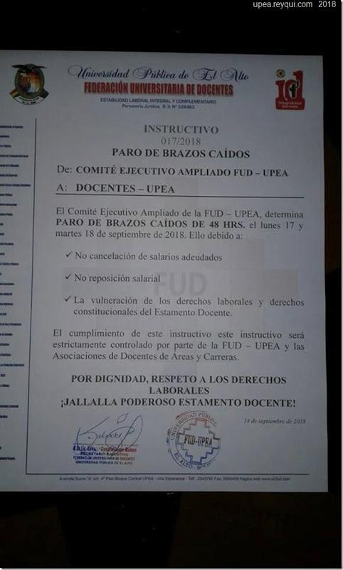 paro-docentes-septiembre-la-upea-2018-reyqui