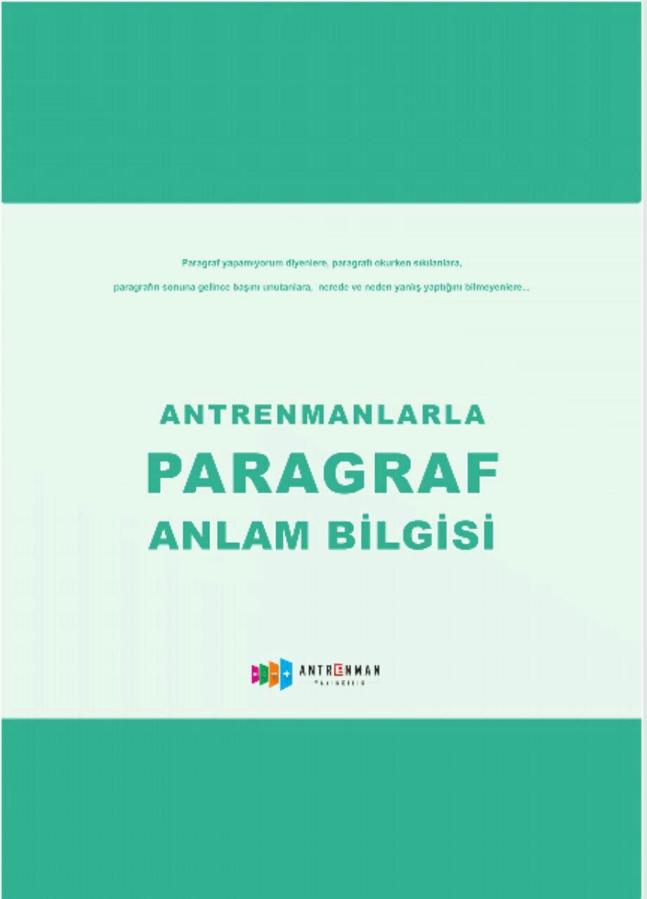 Antreman Yayıncılık Paragraf Anlam Bilgisi