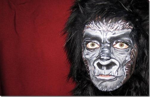 Maquillaje de gorila (8)