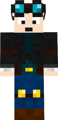It's the main charter from TheDiamondMinecart squad. His best friend is Dr. Trayarus and Dan has a skeleton dog Grim.