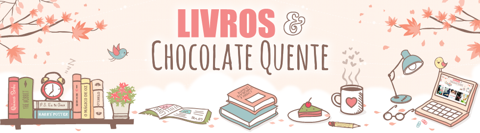 Livros e Chocolate Quente