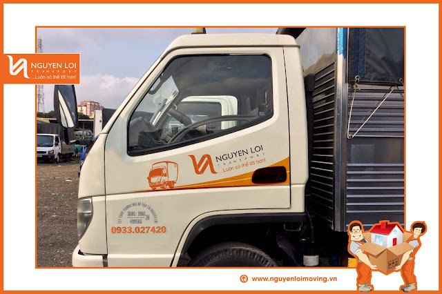 Cho thuê xe tải 2 tấn tại TPHCM