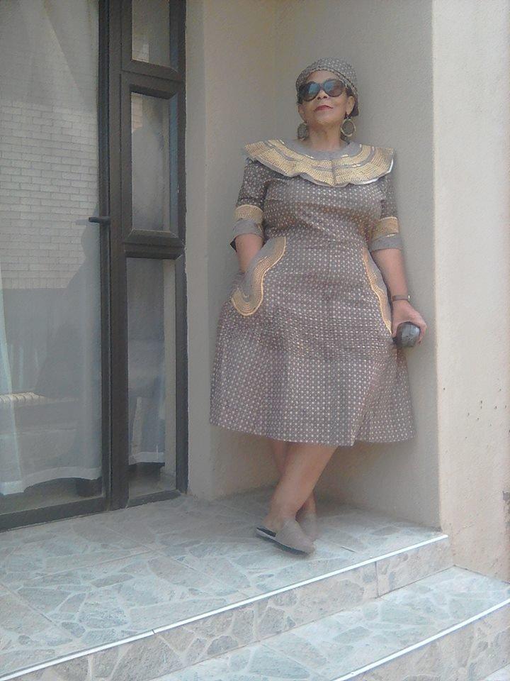 66 Lovely Shweshwe Dress Designs Fashionre