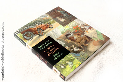 Wind in the Willows, illustrated by Inga Moore, Cover