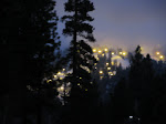 Night lights at Snow Summit