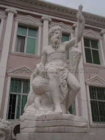 Figure, Interior, Male, Marble, Natural Stone, Statues
