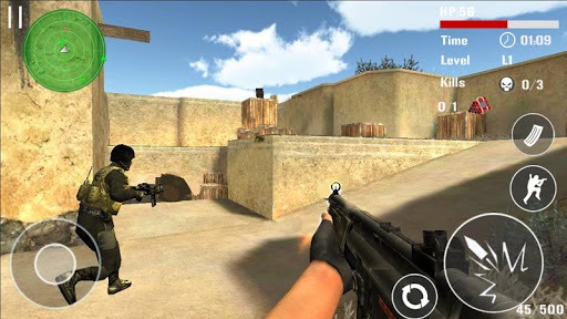 Counter Terrorist Shoot  gameplay | by HackJr.Pw 13