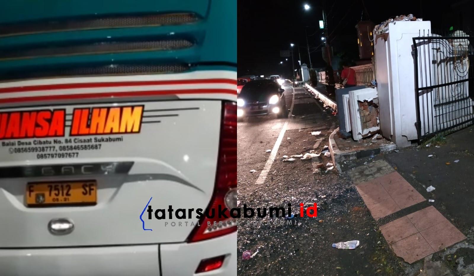 1 Tewas 4 Luka Dalam Insiden Bus Pengantar Keloter Jemaah Haji Kota Sukabumi