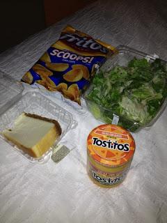 Fritos, Munchies, Greek Salad