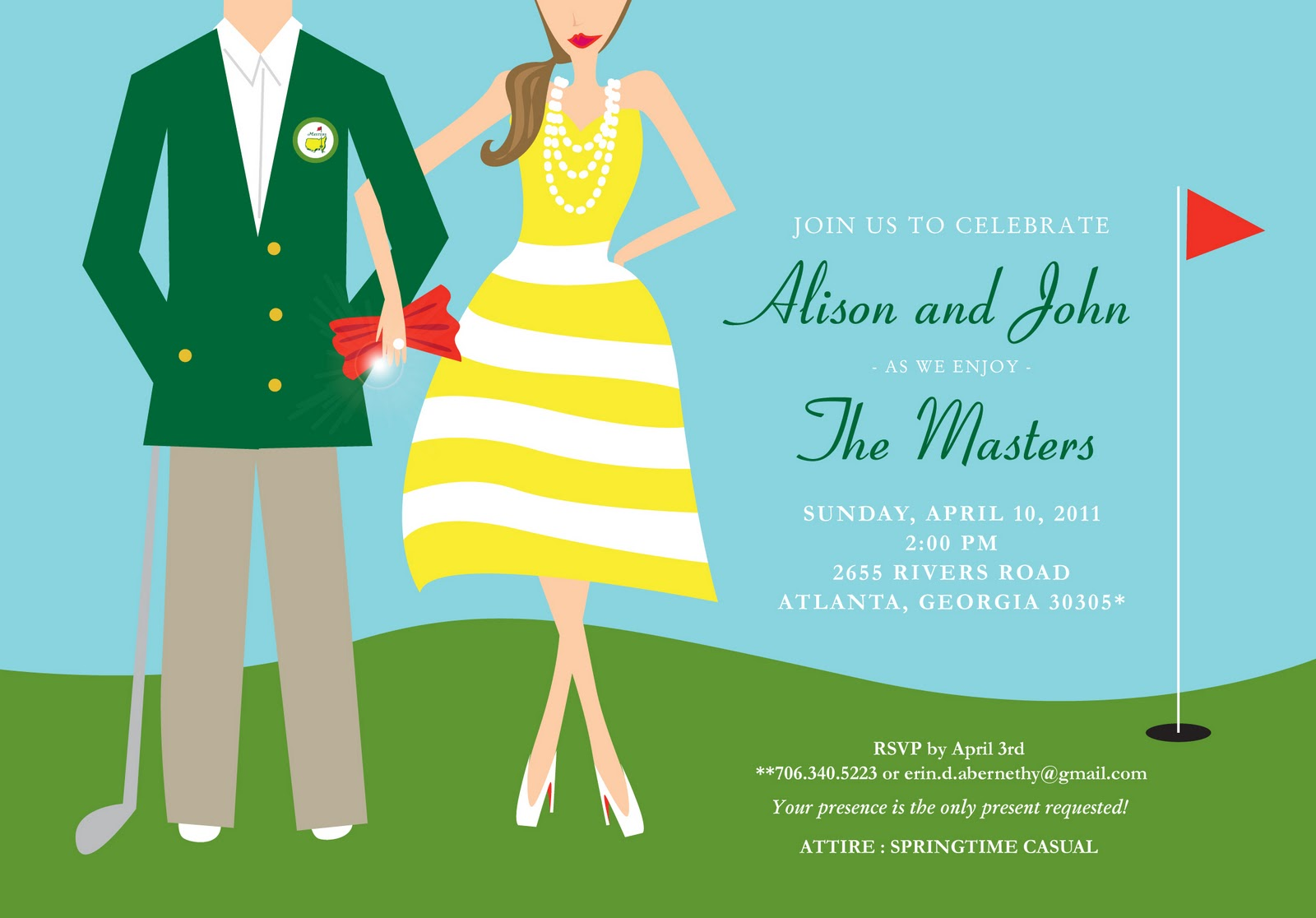Savannah Designer Emily McCarthy BLOG Masters Themed Party